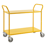 Picture of Two & Three Tier Coloured Steel Trolleys