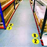 Picture of Letter / Number Floor Sign