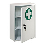 Picture of Metal Lockable First Aid Cabinet