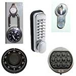 Combination lock option (extra charge)