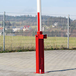 Picture of Manually Operated Counterweight Entry Barrier - Rising Support Post