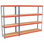 Picture of Heavy Rivet Shelving - 4 Shelves 500Kg UDL