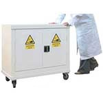 Mobile Hazardous Material Cabinet