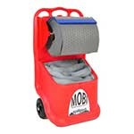 Mobile SpillPod with Absorbent Roll and Socks