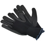 PPE Nitrile Foam Palm Gloves in Packs of 10 with Fast UK Delivery