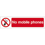 Picture of No Mobile Phone Sign, Small