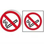 No Smoking Circular Symbol Sign