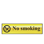 Picture of No Smoking Mini Sign
