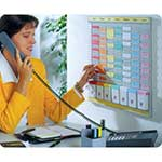 Office Planner Kit, 7 x 24 slot panels
