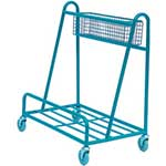 Picture of Open Board Trolley with Basket - 200kg Capacity