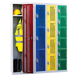 Picture of Perforated Door Lockers 1 to 6 Compartments