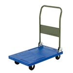Picture of DISCONTINUED Plastic Platform Truck, 120kg Capacity