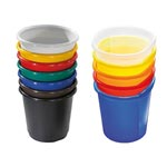 Picture of Plastic Wastebaskets Pack of 4