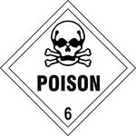 Picture of Poison 6 Diamond Label