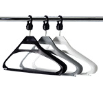 Picture of Polypropylene Anti-Theft Coat Hangers