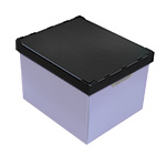Lid for Polypropylene stacker boxes