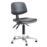 Picture of Polyurethane Cushioned Swivel Task Chairs