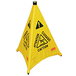 Picture of Pop Up Warning Cone with Wall Storage