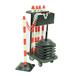 Picture of Post and Chain Trolley & Kits