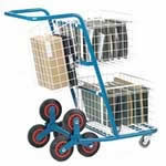 Picture of Post / Mail Distribution Stairclimber with front baskets