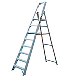 Picture of Professional Platform Step Ladders 3 to 12 Tread Options
