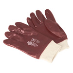 Picture of PVC Chemical Handling Gloves in Packs of 5