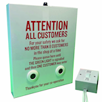 Picture of Queue Management Traffic Light Display Kit
