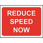 Picture of Reduce Speed Now Road Sign