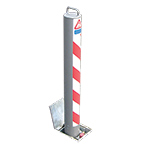 RetractaPost GL Bollard for forecourts / pedestrian areas