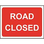 Picture of Road Closed Road Sign