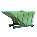 Picture of Roll Forward Tipping Skip Plastic Bucket