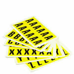S/A Vinyl Labels, Complete Letter Sets