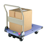 Picture of Silentmaster Braked Plastic Platform Trolleys