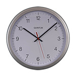 Silver Plastic Cased Clocks