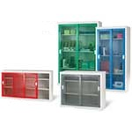 Picture of Sliding Mesh Door Security Cabinets