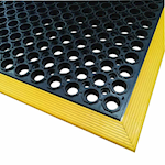 Picture of Social Distancing Work Station Safety Mat Multi Packs