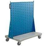 Picture of Spacemaster Single Sided Bin Trolleys