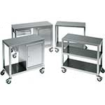 Picture of Stainless Steel 2 Tier Trolley & Cabinet