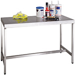 Picture of Stainless Steel Workbenches in 8 Sizes