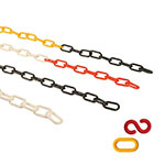 Picture of Standard Plastic Chains 24m Packs With S-Hooks & Connector Links