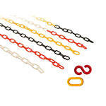 Standard Plastic Chains 24m Packs With S-Hooks & Connector Links