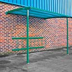 Picture of Starter Wall Mounted Cycle Shelter