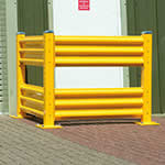 Steel Barrier Systems for Indoor or Outdoor Use