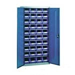 Picture of Steel Storage Cabinet with 40 plastic containers