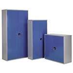 Picture of Steel Storage Cabinets without plastic bins