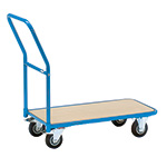 Picture of Storeroom Platform Trolley with Timber Platform
