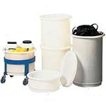 Picture of Straight Side Round Food Grade Bins
