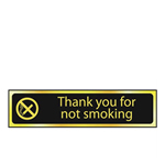 Thank You For Not Smoking Mini Sign