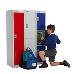 Picture of Three Quarter Height Lockers