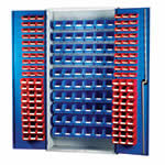 Topstore Louvred Panel Container Cabinets